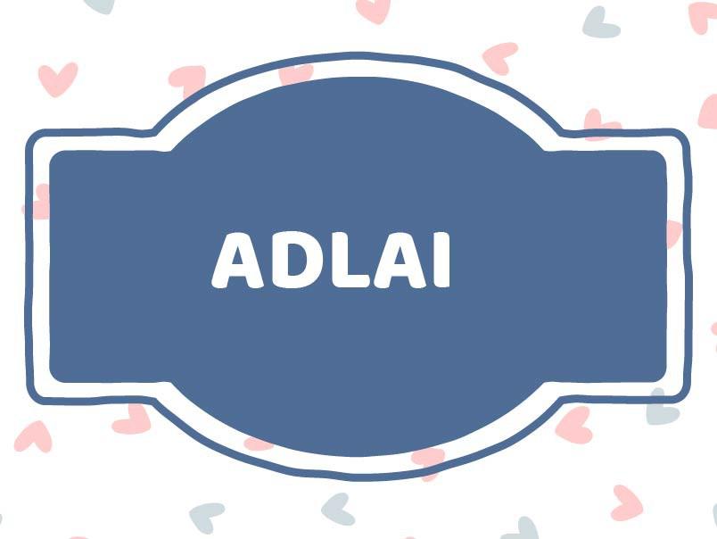 Baby boy names: Adlai