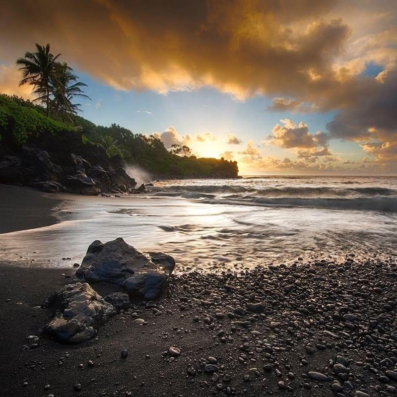 Wai'anapanapa State Park Hana, Hawaii