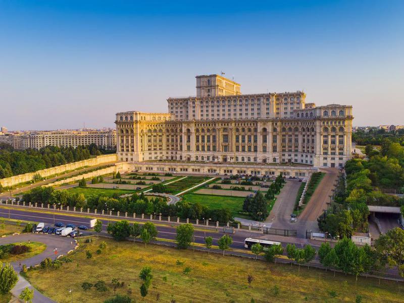 Parliament House in Bucharest
