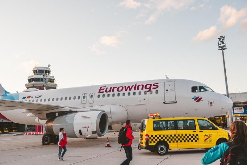 Eurowings Airlines at Klagenfurt International Airport