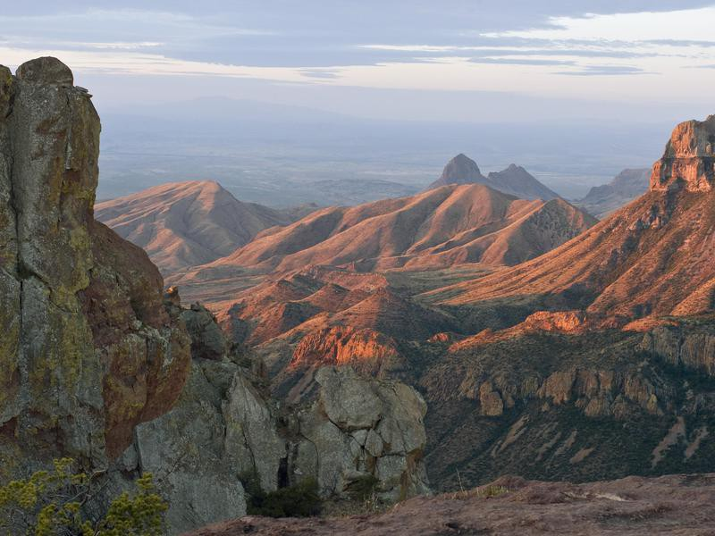 Northeast Rim of the Chisos Mountains
