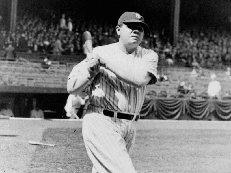 Babe Ruth in 1932