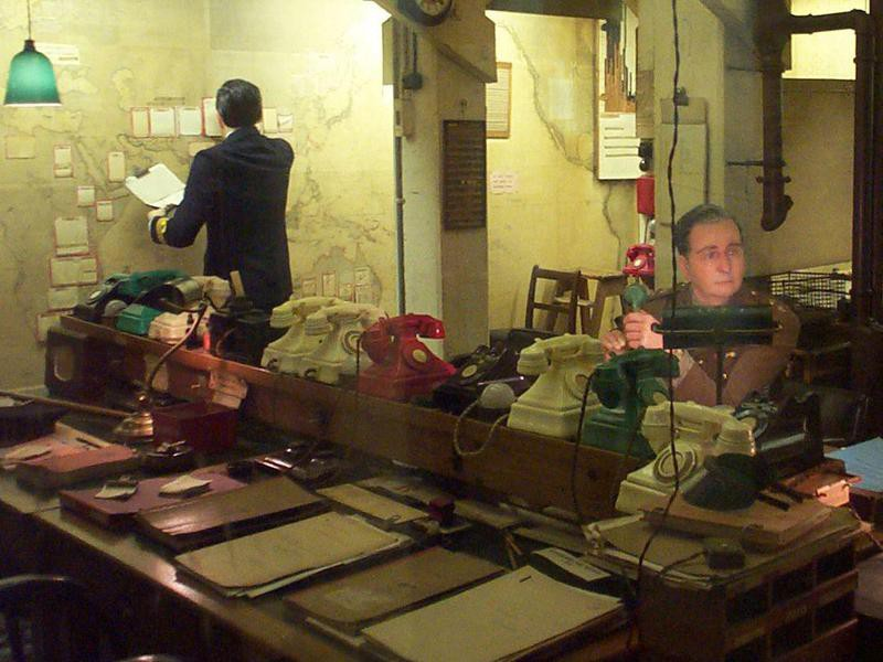 Churchill War Rooms, England