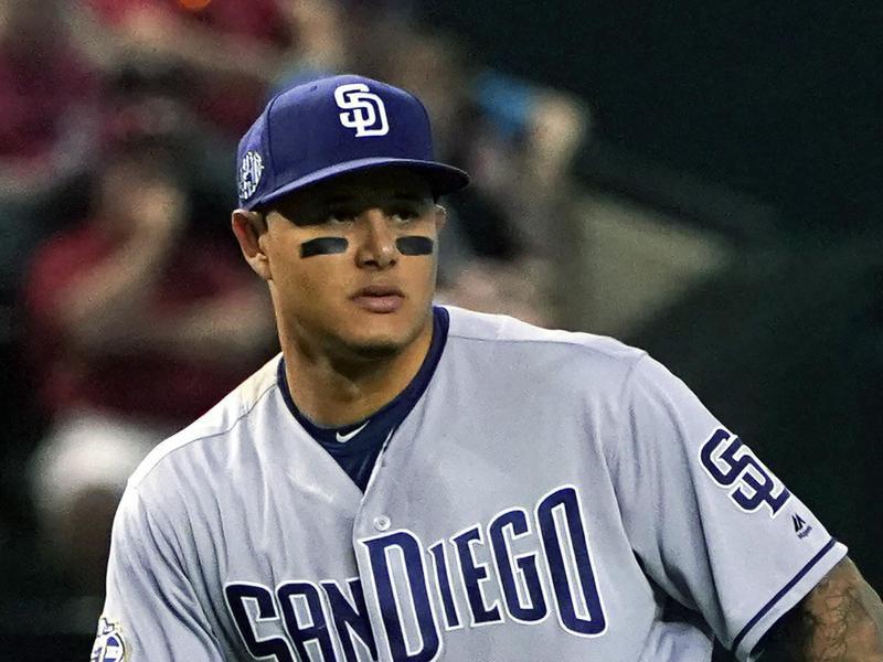 San Diego Padres third baseman Manny Machado