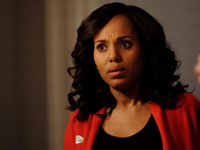 """Kerry Washington's """"Scandal"""" character Olivia Pope was the first African American female to lead a prime time drama in 40 years."""
