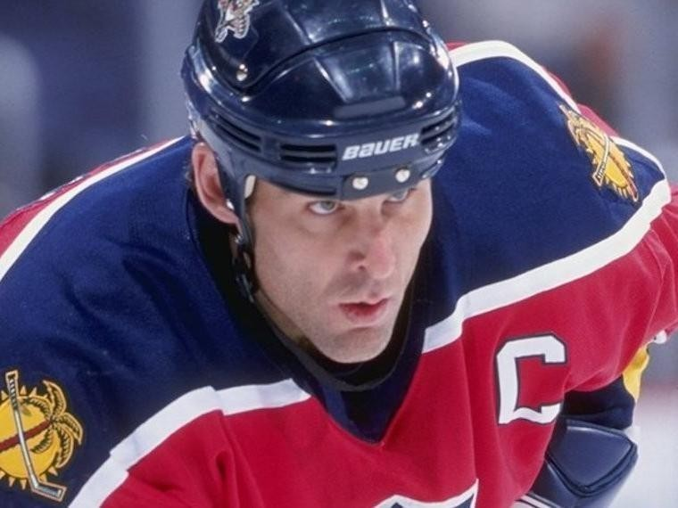 Scott Mellanby had his best years with the Florida Panthers