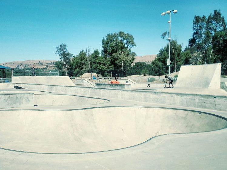 Lake Cunningham Action Sports Park in California