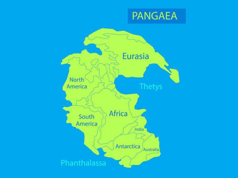 Pangaea map