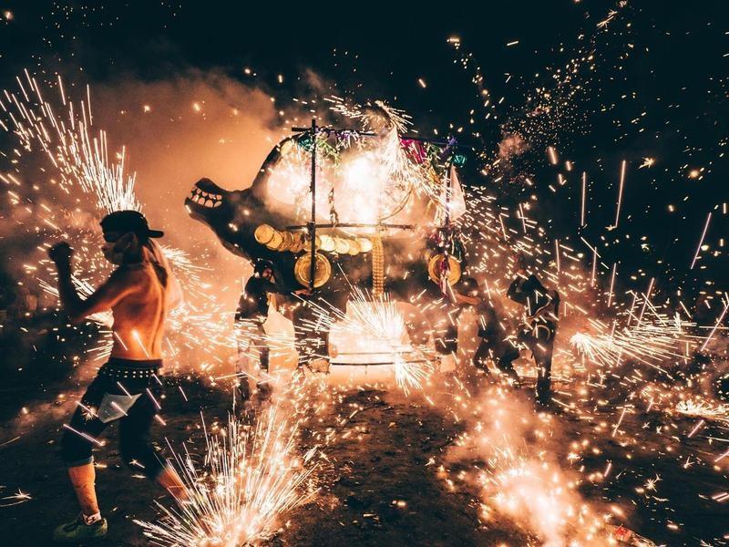 National Pyrotechnic Festival, Tultepec, Mexico
