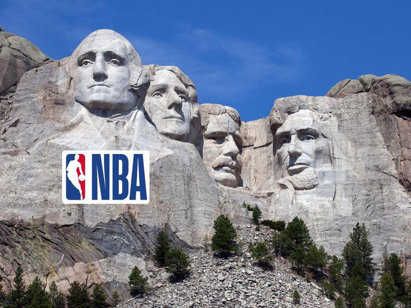 Mount Rushmore for every NBA team