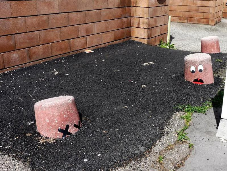 Quicksand street art in Europe