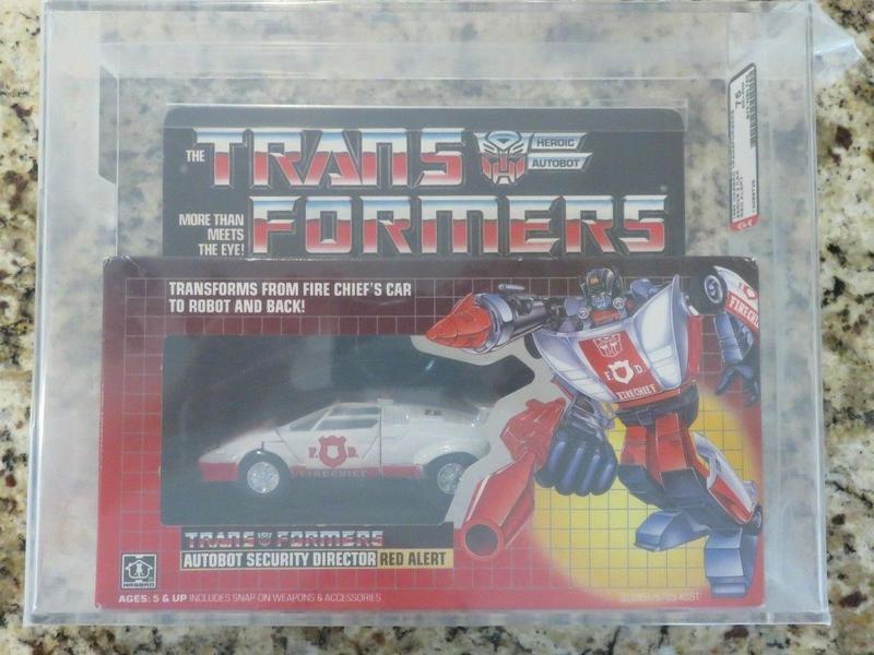 G2 Red Alert transformers