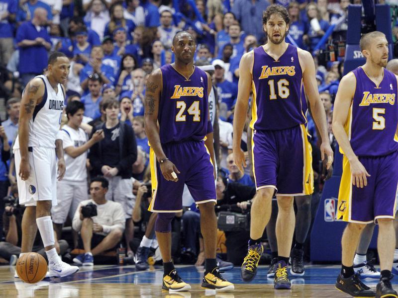 Kobe Bryant, Pau Gasol, Steve Blake
