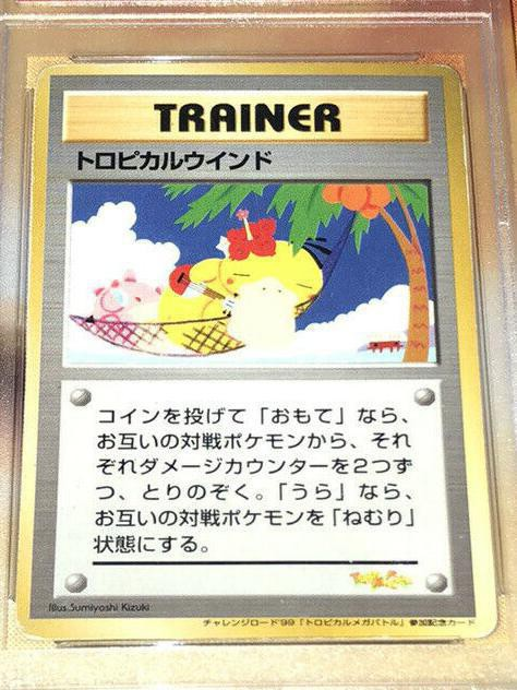 1999 Japanese Tropical Mega Battle Tropical Wind Promo