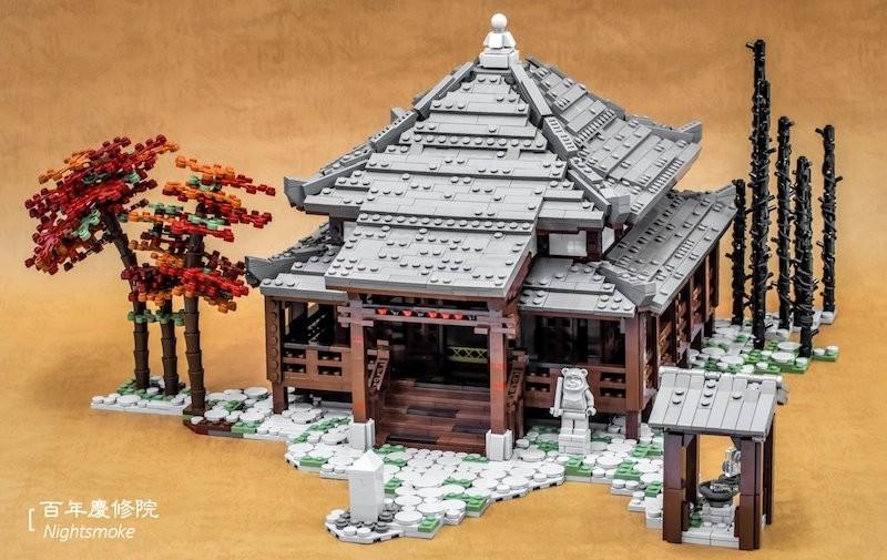 Taiwanese Lego temple