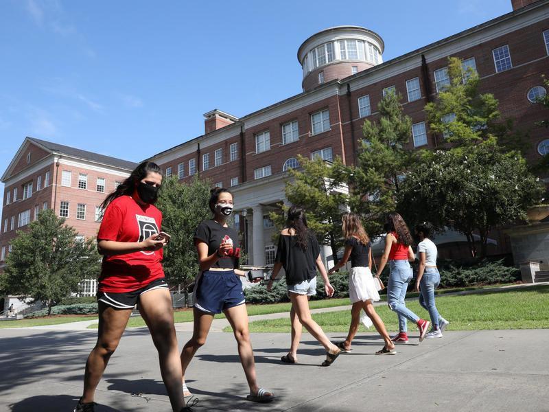 Students at University of Georgia