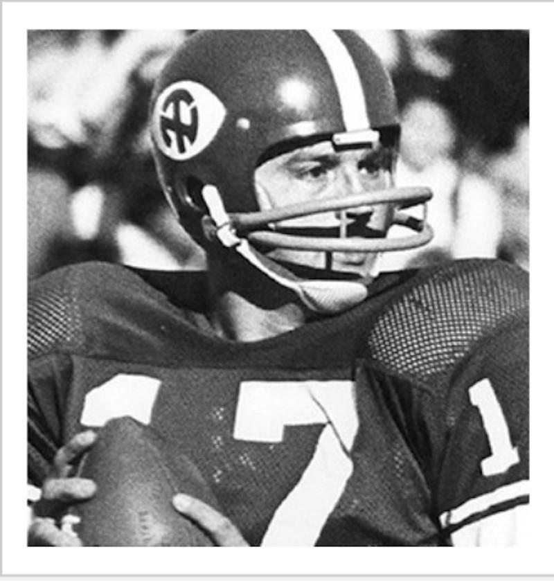 Steve Ramsey with football