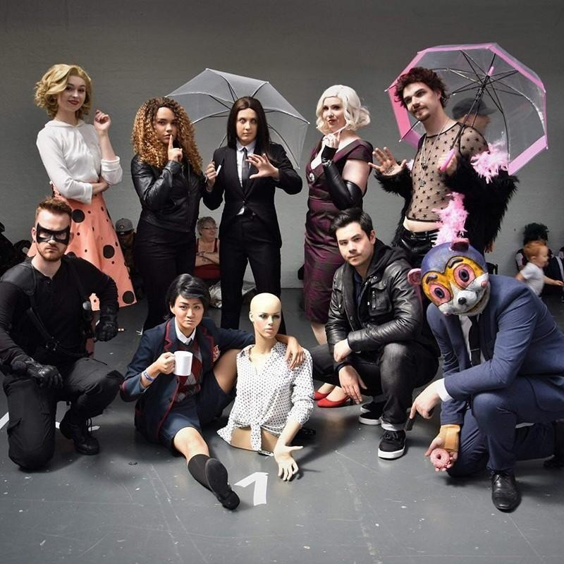 Umbrella Academy costumes