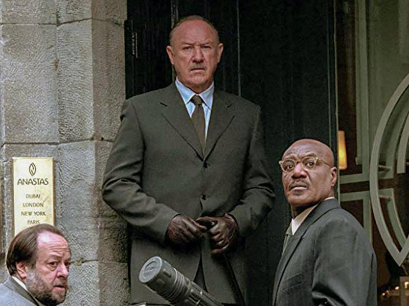 Gene Hackman, Delroy Lindo, and Ricky Jay in Heist (2001)