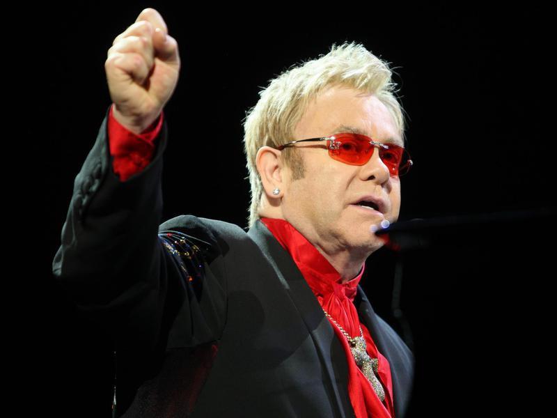 Elton John in 2016