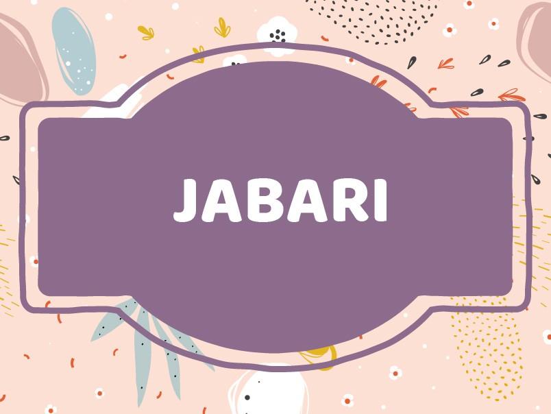 J Baby Names: Jabari