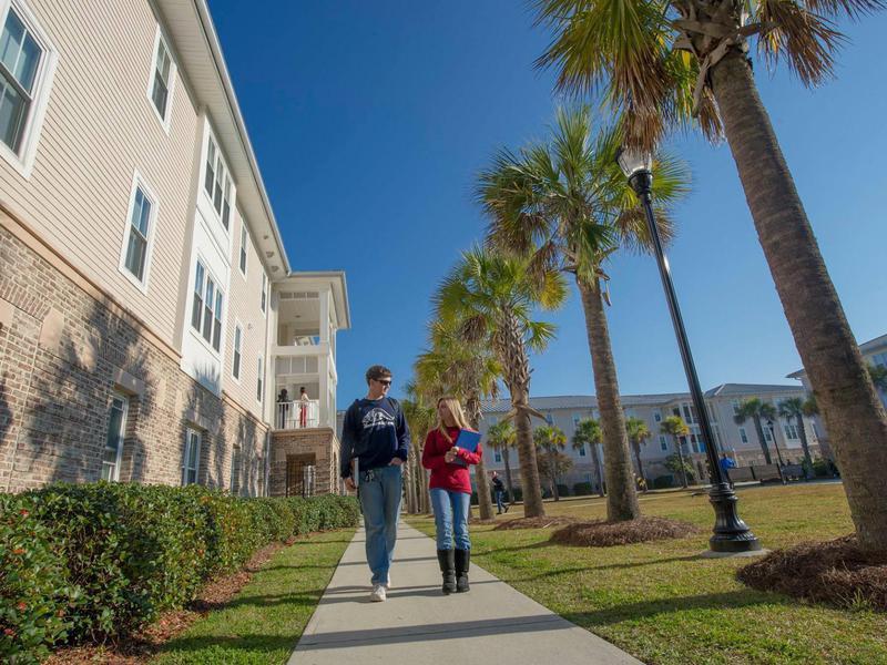 Students at University of South Carolina