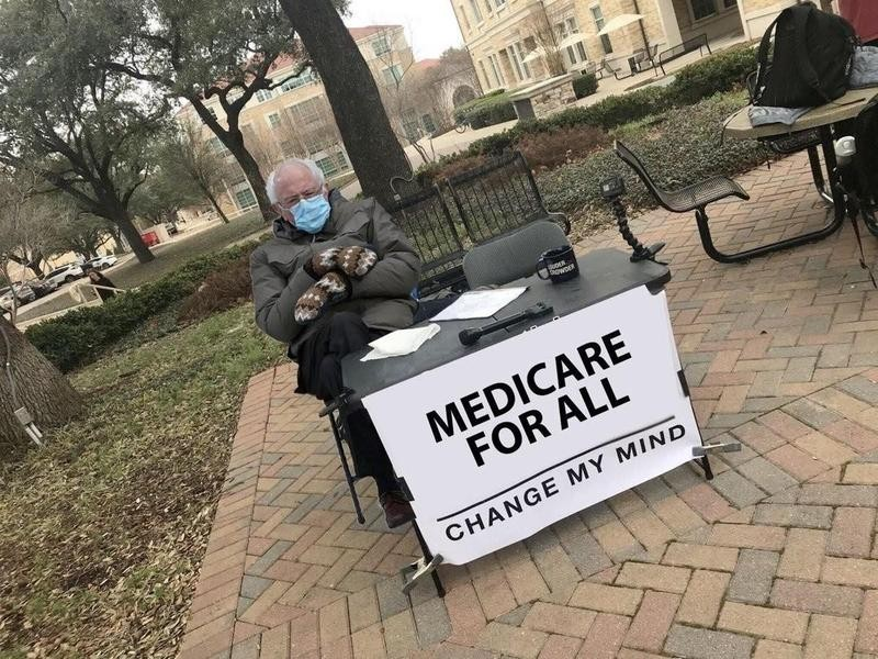 Bernie Sanders wants Medicare for All