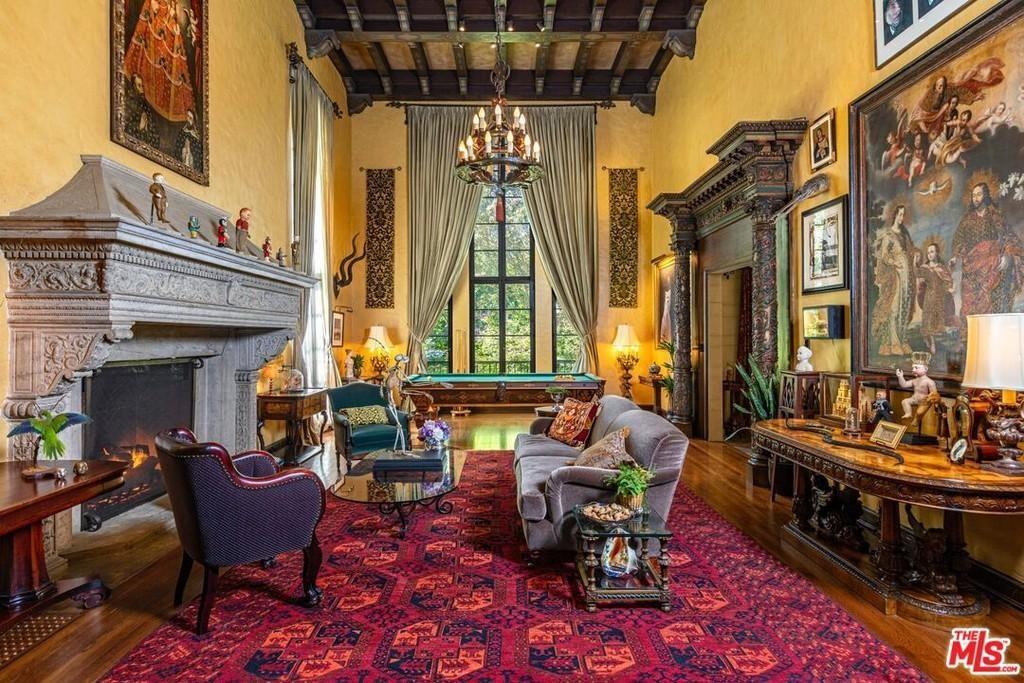 Bridget Fonda and Danny Elfman's house