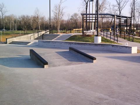 Stoner Avenue Skate Plaza in Shreveport, Louisiana