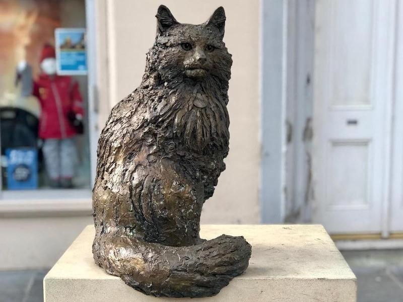 Hamish McHamish statue in Saint Andrews, Scotland