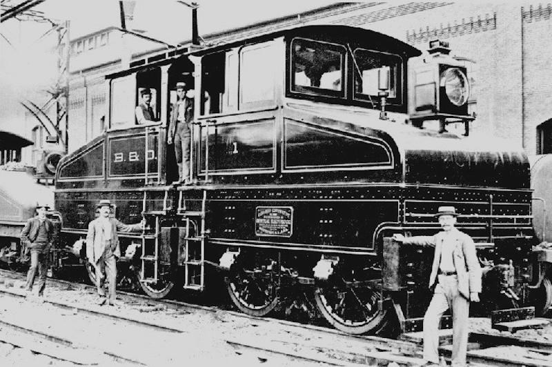 Baltimore Belt Line in 1895