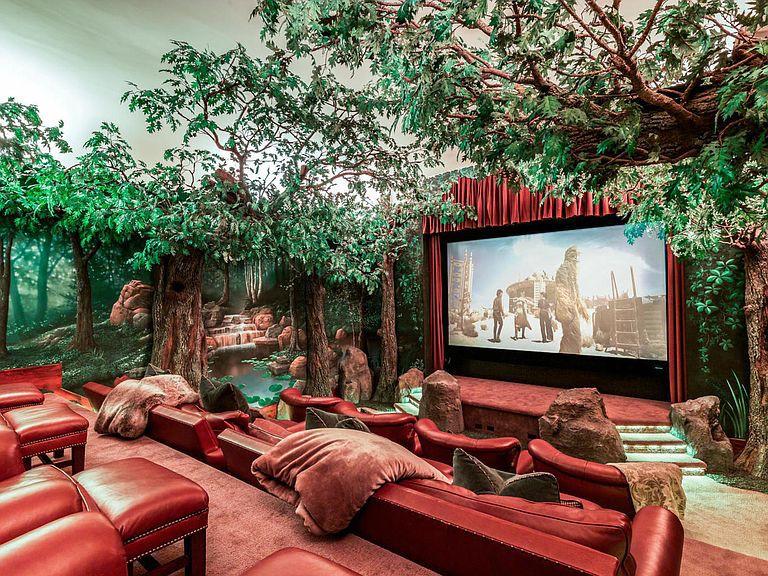 At-home theater in Orem, Utah
