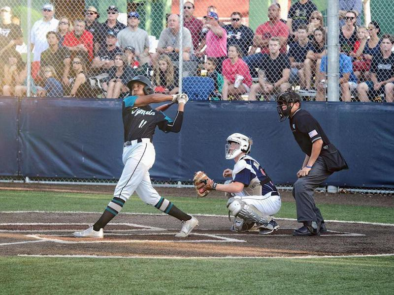 Olympia High School hitter