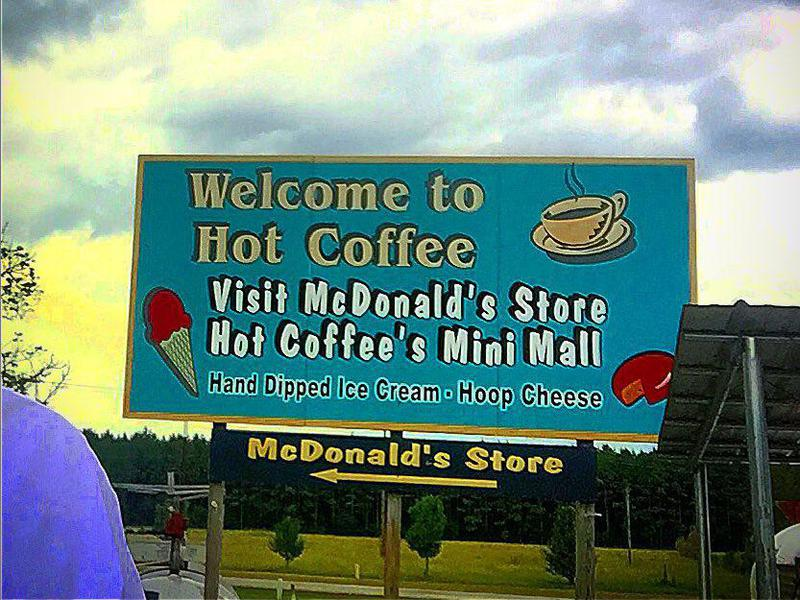 Town of Hot Coffee, Mississippi
