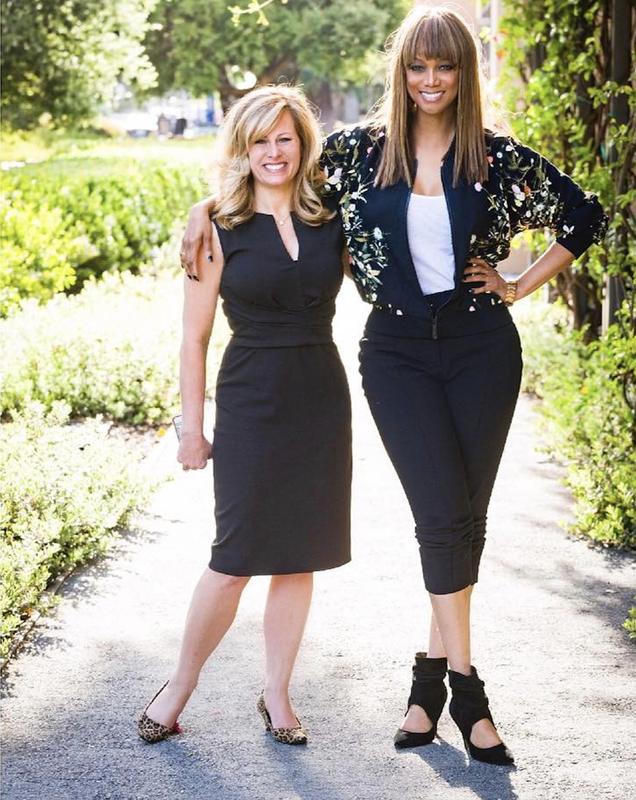 Tyra Banks and Allison Kluger