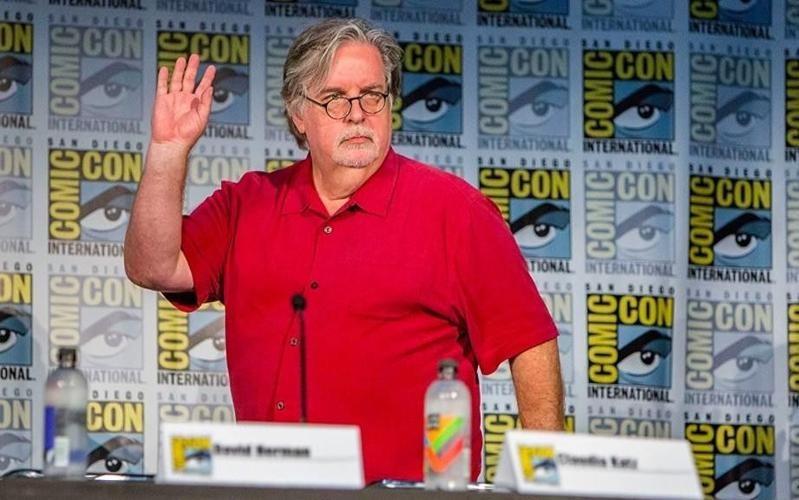 Matt Groening at an event for Disenchantment in 2018