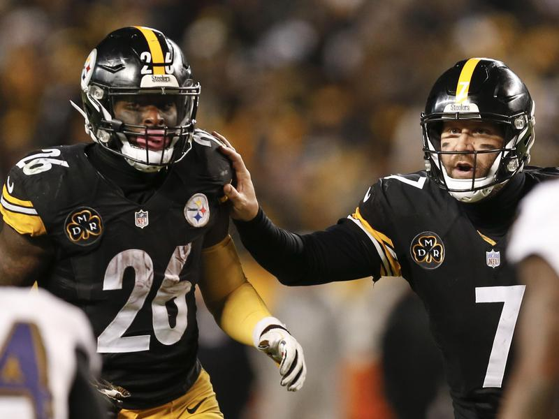 Le'Veon Bell and Ben Roethlisberger