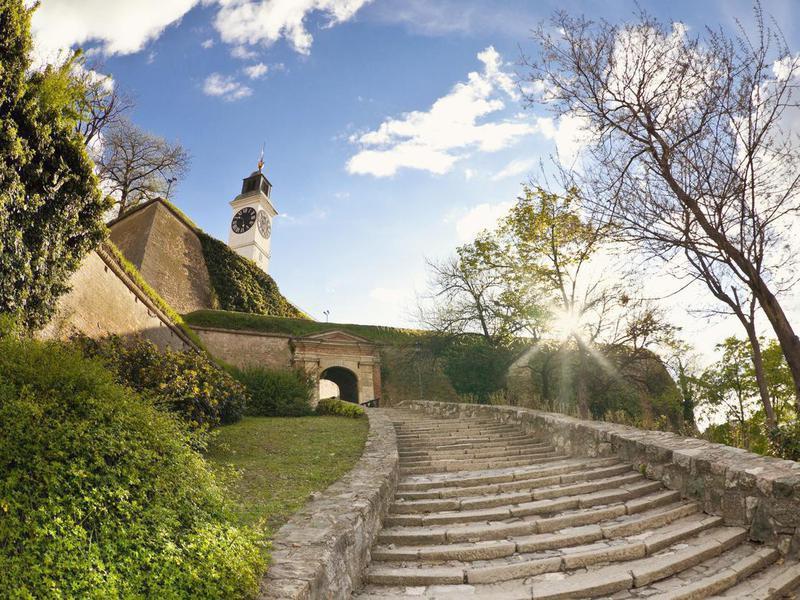 Fortress of Petrovaradin in Novi Sad, Serbia