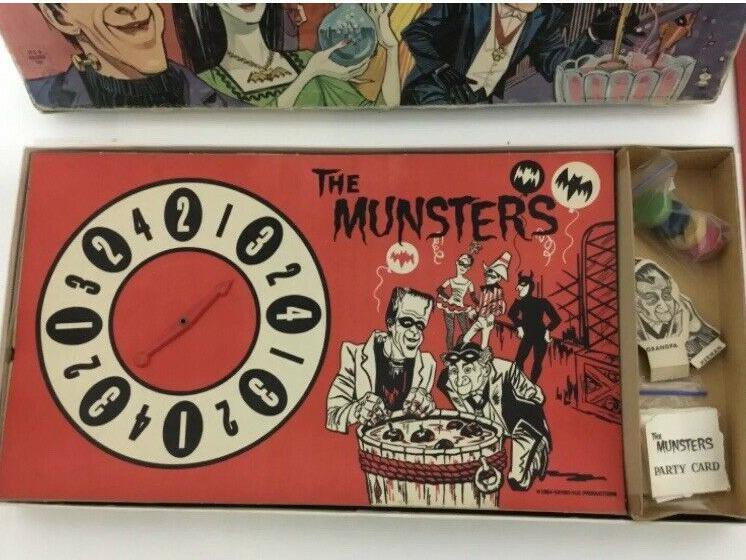 Munsters Masquerade Party valuable board game