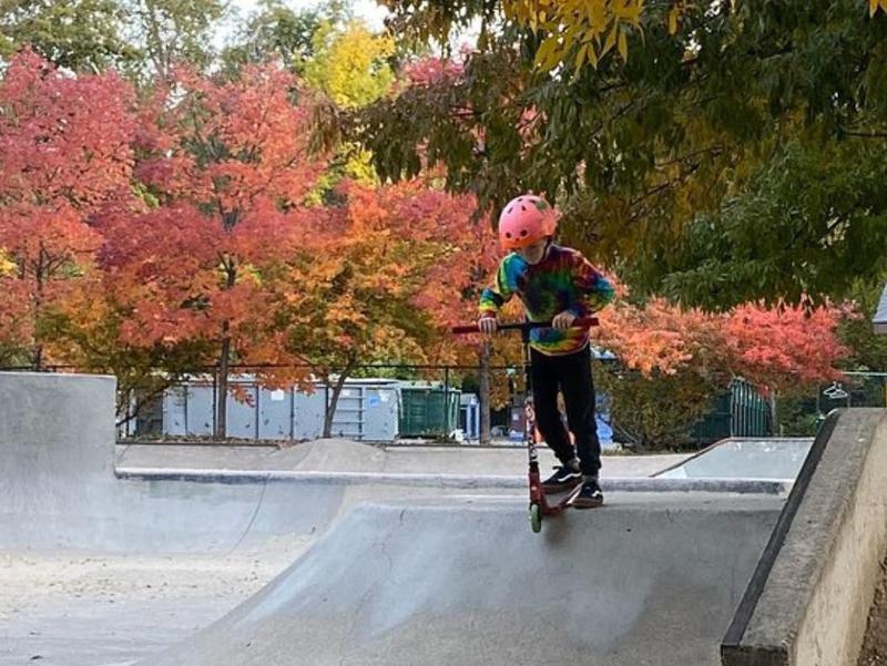 Ashland Skatepark in Ashland, Oregon