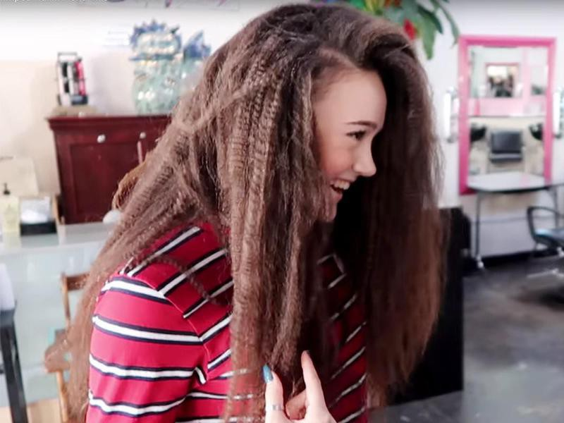 Easy Crimped Hair
