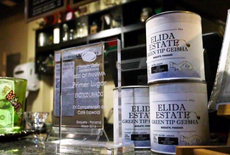 Elida Geisha Coffees