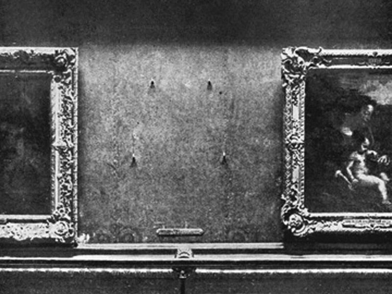Stolen Mona Lisa