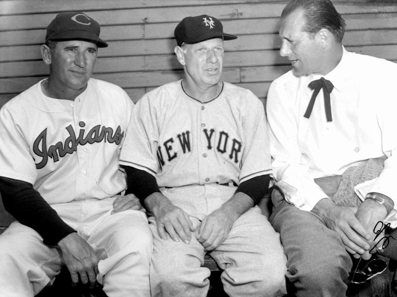 Al Lopez, Leo Durocher, Hank Greenberg