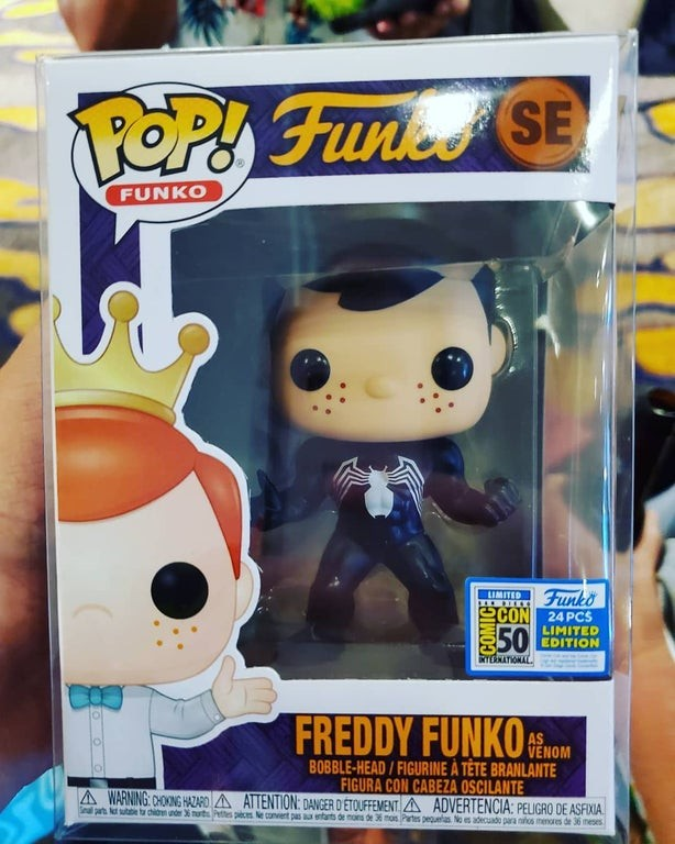 Venom Freddy Funko
