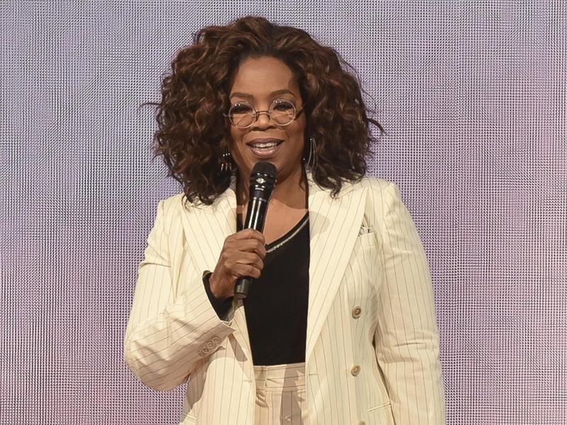 Oprah Winfrey in 2020