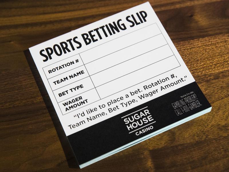 Sports betting slips