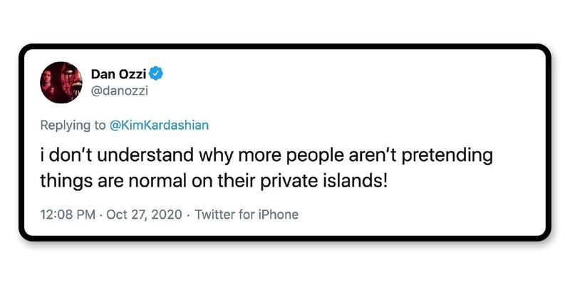 How's your private island?