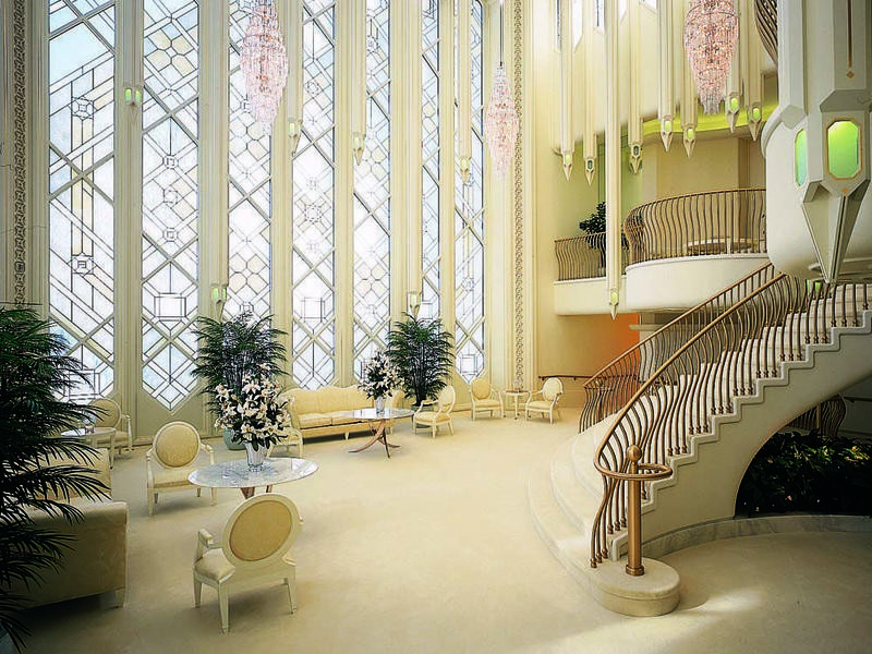 Temple of the Church of Jesus Christ of Latter-day Saints interior