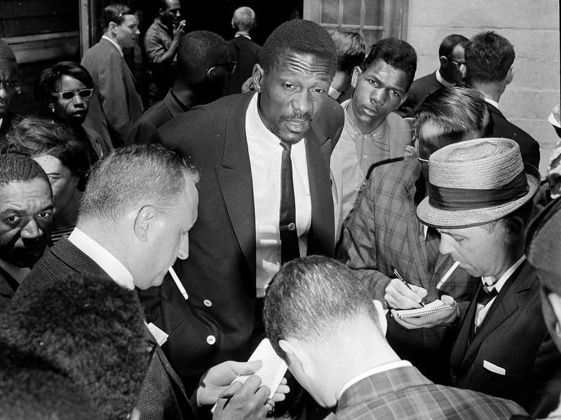 Bill Russell in 1963